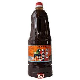 【1ケース】タカワ お好み・たこ焼ソース 和泉食品 1.8L 6本入