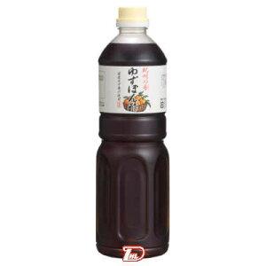 【1ケース】紀州の香 ゆずぽん酢 ハグルマ 業務用 1L 12本入