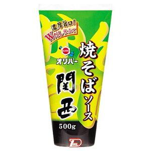 【1ケース】焼そばソース関西 オリバーソース 500g 12本