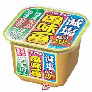 【1ケース】風味一番 濃厚な旨みだし入り 減塩 ハナマルキ 750g 6個
