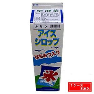 【1ケース】氷みつ 宇治茶 フジスコ 業務用(5倍希釈用) 1.8L 8本入