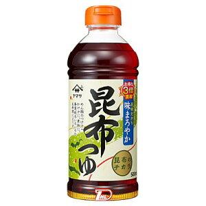 【1ケース】昆布つゆ ヤマサ醤油 500ml 12本入