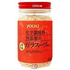 【1ケース】化学調味料無添加のガラスープ 顆粒 ユウキ食品 130g 12個