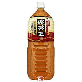 【2ケース】健茶王 すっきり烏龍茶 カルピス 2Lペット 6本×2