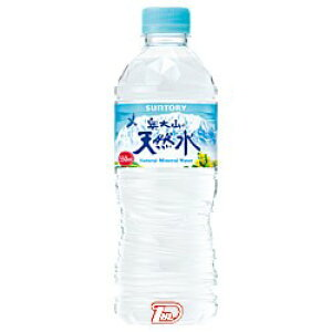 サントリー 天然水(奥大山) 550ml×24本 PET