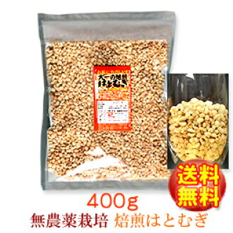 Leave farming without agricultural chemicals, the skin (refinery); 100% of pigeon wheat of Daiichi 400 g of economical はとむぎ roast はとむぎ ◆! Four points of tea points◆