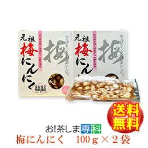 静岡市 梅辰株式会社 梅にんにく100g×2袋