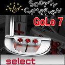 【NET限定特別価格】 スコッティ キャメロン ゴーロー7 パター Golo7 日本正規品