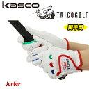 【ジュニア用(両手用)】キャスコ トリコゴルフグローブ SF-1615JWKasco TRICOGOLF Junior あす楽