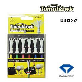 ダイヤゴルフ トマホークティー セミロングTE-504 ネコポス対応商品