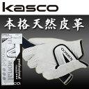 キャスコ ゴルフ グローブ 本格天然皮革 TKB-01Kasco アウトレット セール5枚同時ご購入でネコポス送料無料