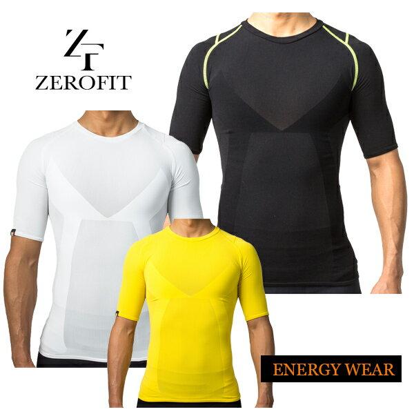 【大特価!】ゼロフィット エナジーウェア ショートスリーブ クルーネックZEROFIT ENERGY WEAR ZUSW15 メンズ あす楽