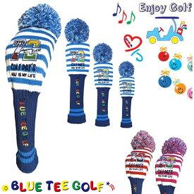 ブルーティーゴルフ ヘッドカバー ニット パー72 ゴルフデイズ (DR・FW・UT用)BLUE TEE GOLF Par72 Golf Day'sK-BTG95014