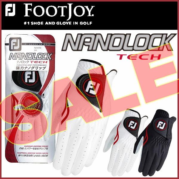 【大特価!】フットジョイ ナノロックテック ゴルフグローブFOOT JOY NANOLOCK TECH FGNTC16 あす楽