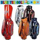ブルーティーゴルフキャディバッグエナメル9型BLUETEEGOLFBTG-CB005
