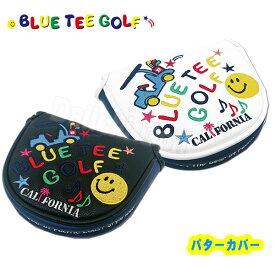 ブルーティーゴルフ スマイル&カートパターカバー マレットタイプBLUE TEE GOLF HC-012 あす楽
