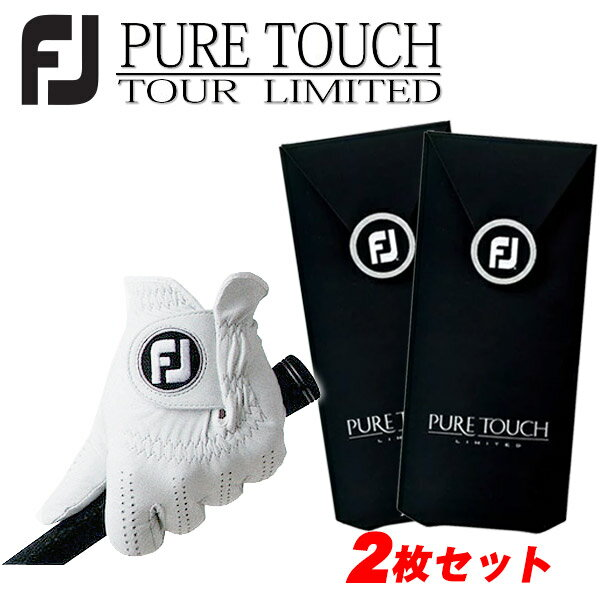 【2枚セット】フットジョイ 手袋 ピュアタッチFOOTJOY ゴルフ グローブ あす楽