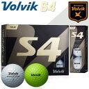 ボルビック S4 ゴルフボールVolvik 1ダース(12球) あす楽