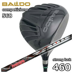 バルド(BALDO)COMPETIZIONE568ストロングラック460ドライバーTRPX(ティーアールピーエックス)Feather(フェザー)シャフト