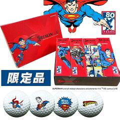 【数量限定】スリクソン-X-スーパーマンキャラクターボール80周年記念モデル1ダース(12球)SRIXONSUPERMAN2018あす楽