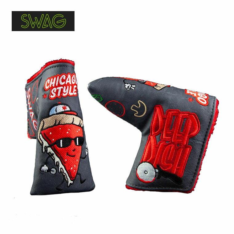 【限定モデル】SWAG GOLF ディープ ディッシュ シカゴスタイル パターヘッドカバー