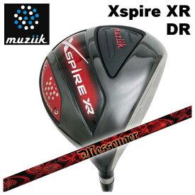 【特注カスタムクラブ】ムジーク muziikオンザスクリューエクスパイアー Xspire XR ドライバーTRPX(ティーアールピーエックス)NEW Messenger(ニューメッセンジャー) シャフト