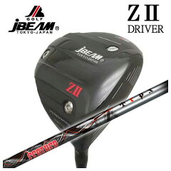 【特注カスタムクラブ】JBEAMジェイビームZ2ゼッツードライバーTRPX(ティーアールピーエックス)Feather(フェザー)シャフト