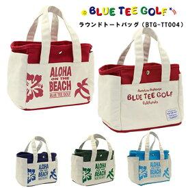 ブルーティーゴルフ ラウンドトートバッグアロハ オン ザ ビーチ BTG-TT004BLUE TEE GOLFALOHA ON THE BEACH あす楽