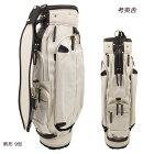 考英舎キャディバッグ9型軽量3.5kgハンドメイド板垣帆布C/Bag生成/ダークブラウン
