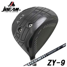 【特注カスタムクラブ】JBEAM(Jビーム) ZY-9 ドライバーグラファイトデザイン Tour-AD XCシャフト