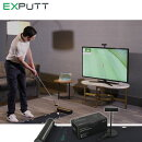 【練習器具】EXPUTTパターシュミレーター家庭用スクリーンパッティング練習機(日本正規品)