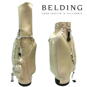 ベルディング ゴルフ キャディバッグライダースタイル 8.5型ホワイトチョコレートグレーズ HBCB-850131BELDING RYDER STYLE