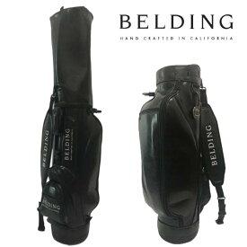 ベルディング ゴルフ キャディバッグライダースタイル 8.5型ブラックグレーズ hbcb-850132BELDING RYDER STYLE