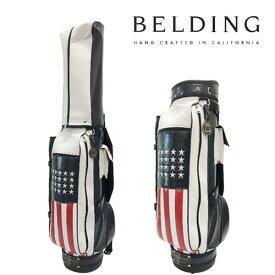 ベルディング ゴルフ キャディバッグブッシュワーカー・アメリカンフラッグ8.5型 HBCB-850133BELDING BUSHWHACKER AMERICAN FLAG
