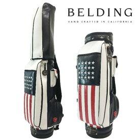 ベルディング ゴルフ キャディバッグブッシュワーカー・アメリカンフラッグ9.5型 HBCB-950133BELDING BUSHWHACKER AMERICAN FLAG
