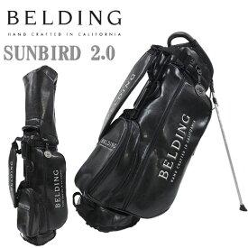ベルディング ゴルフ キャディバッグ HBCB-850137サンバード 2.0 スタンドバッグ 8.5型BELDING SUNBIRD 2.0 STAND BAG
