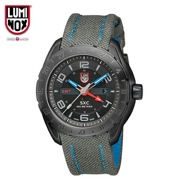 Luminox直営店 ref. 5121BLACKOUT SXC STEEL GMT 5120 SPACE SERIES [スペースシリーズ/ファーストモデル/ブラックアウト/腕時計王掲載] LUMINOX ルミノックス