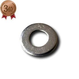 ステンレス 丸ワッシャー M10×22×1.5t【100枚セット】内径×外径×厚み(ミリ)