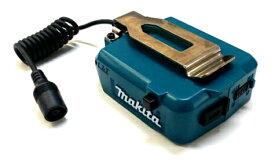 マキタ 14.4V/18V用バッテリホルダ(充電式暖房ジャケット、ベスト、ひざ掛け用) USB端子付YL00000002 本体のみ(バッテリ・充電器 別売り)金属フック