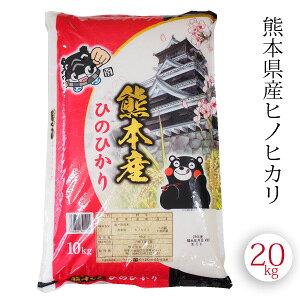 送料無料 ひのひかり ヒノヒカリ 熊本県産 20kg 令和2年 (10kgx2袋入り)白米 精米 通販 お取り寄せ 美味しいお米 おススメ