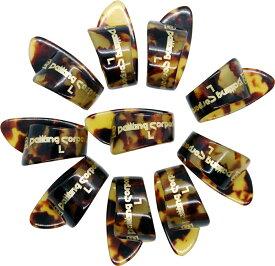 DaikingサムピックL 10枚セット、日本製。親指のサイズが大きい方向け。右利き用。ネコポスでお客様宅ポストへのお届けなので在宅の必要はありません、日本全国送料無料。