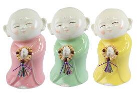 かわいい仏さま 陶器・癒し地蔵(念珠付) 0905b006a
