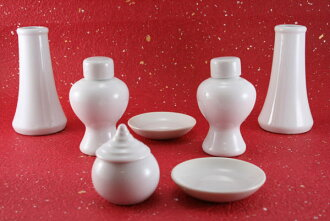 Porcelain 7 piece set God tool set (small) 1404 a002a