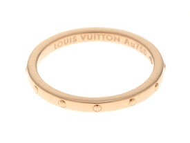 LOUIS VUITTON ルイヴィトン 指輪 ミニバーグ アンプリーズ Q9G75A PG 1.9g 48号 【204】 【中古】【大黒屋】