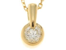 AHKAH アーカー ネックレス ブレーソン K18YG イエローゴールド ダイヤモンド 【435】 【中古】【大黒屋】