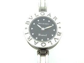 BVLGARI ブルガリ B-zero1 Mサイズ ビーゼロワン ステンレススチール ブラック文字盤 レディース腕時計 BZ22S 【474】 【中古】【大黒屋】