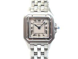 【送料無料】Cartier カルティエ パンテール SS ホワイト文字盤 W25033P5 レディース腕時計【413】【中古】【大黒屋】