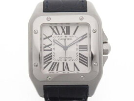 【送料無料】Cartier 時計 サントス 100 オートマチック サントス 100【434】【中古】【大黒屋】