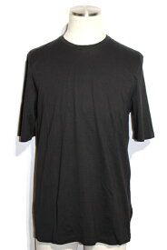 LOUIS VUITTON ルイヴィトン LV Tシャツ メンズ L ブラック コットン MALLES DE LOUIS VUITTON【200】【中古】【大黒屋】