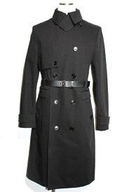 【送料無料】Dior Homme ディオールオム アウター コート メンズ48 約Mサイズ ブラック コットン【200】【中古】【大黒屋】